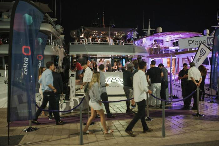 Celtra yacht at Cannes Lions 2016