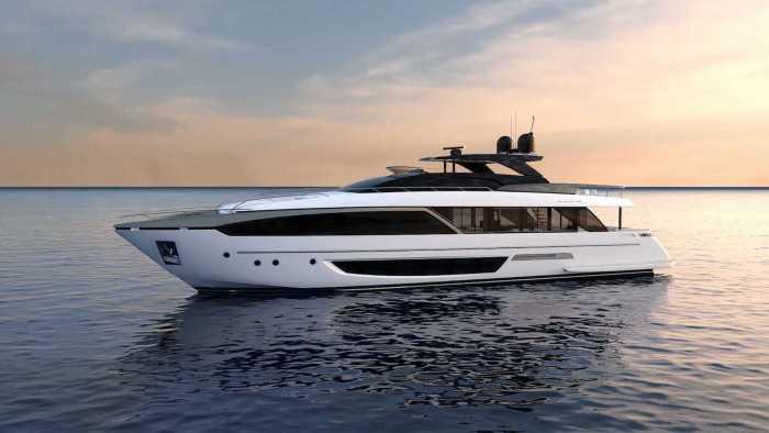 Riva 110 yacht profle