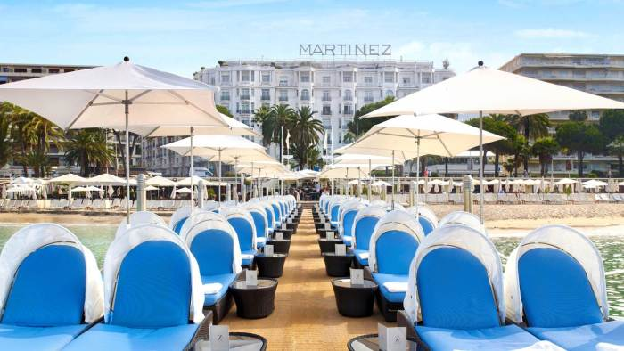 Z Plage at Martinez Hotel in Cannes