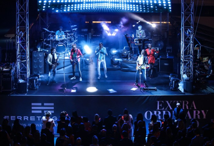 Duran Duran concert at Monaco Yacht CLub