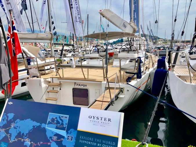 Oyster Yachts at Cannes Yachting Festival 2018