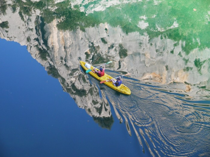 Kayak in Gorges du Verdon