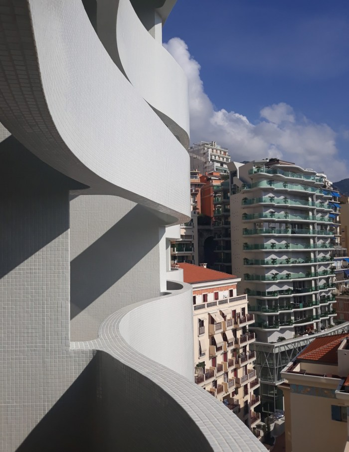 View from terrace in Monaco's Le Stella