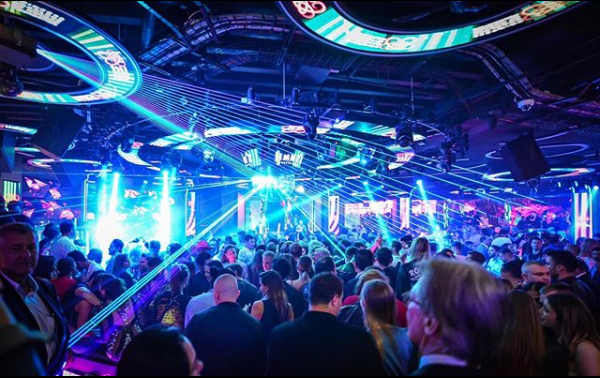 Jimmy'z nightclub in Monte-Carlo, Monaco