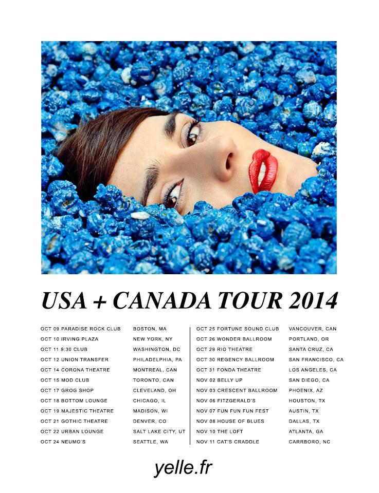 Yelle Tour