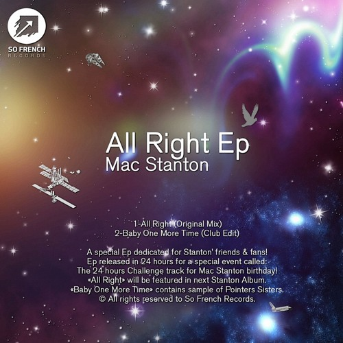 Listen: Mac Stanton - All Right EP