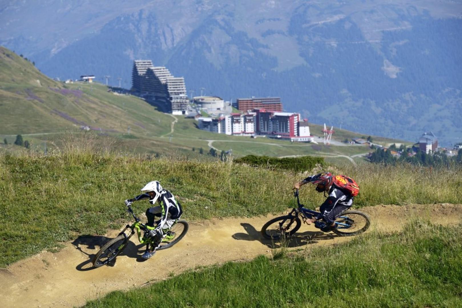 La Plagne Mountain Bike Racing