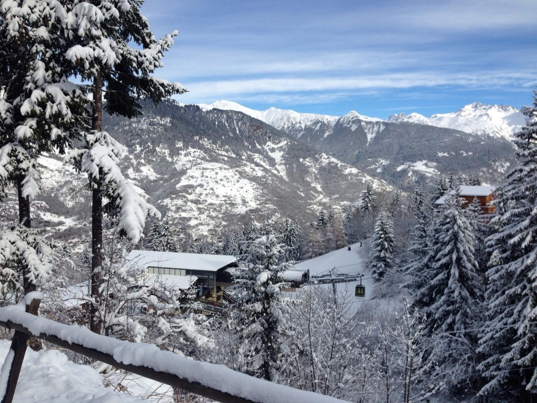 view to the gondola lift