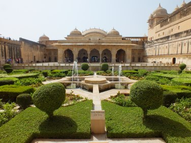 Inside Jaipur's Amber Fort