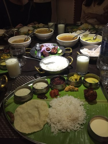 Indian food traditionally from Kerala- all of this delicious food for only £2.30 each!