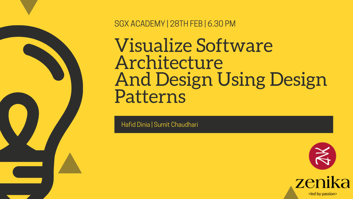 Visualize Software Architecture and Design using Design Patterns