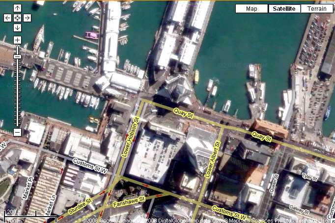 viaduct location in auckland!!