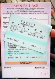 Japan Rail Pass 7 jours