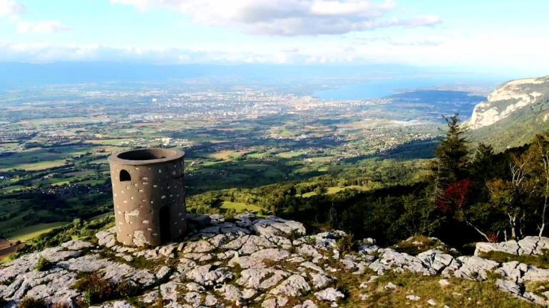 Genève vue par drone