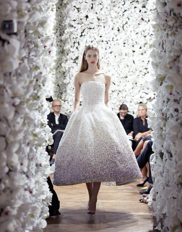 Christian Dior Haute Couture FW 2012 designed and Produced by BUREAU BETAK;  Picture by Daniel Beres