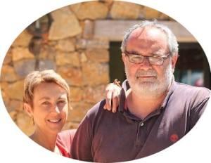 Fabienne et Michel Brotons, proprietors