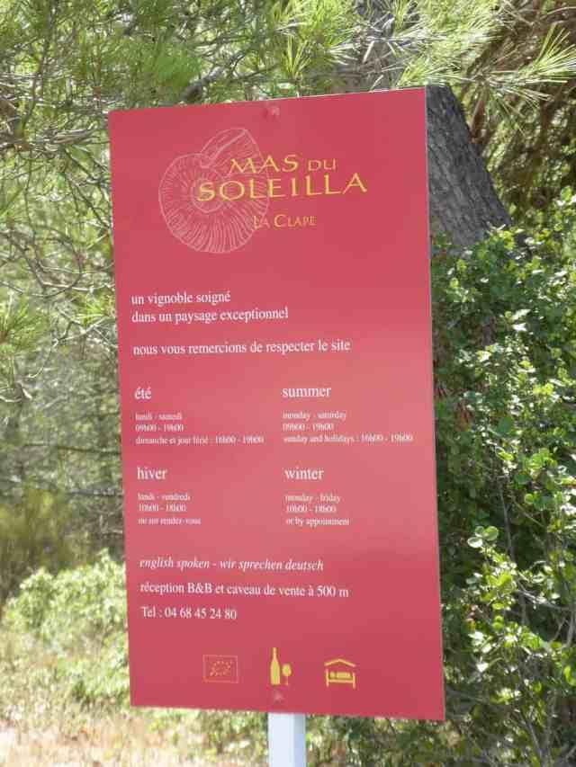 Mas Soleilla September 2017