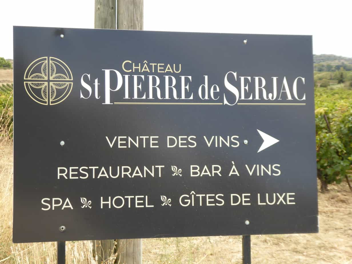 Chateau St Pierre de Serjav September 2017