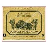 Domaine Pierre Adam wine label