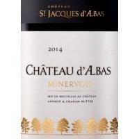 Chateau St Jacques d'Albas  wine label