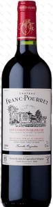 Ch Franc-Pourret bottle