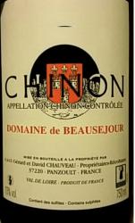 Domaine de Beausejour label