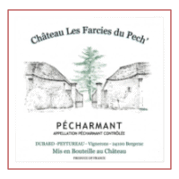 Domaine Les Farcies du Pech Pecharmant wine label