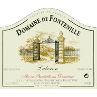 Domaine de Fontenille Provence wine label