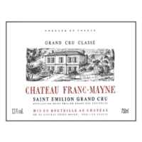 Chateau Franc Mayne wine label