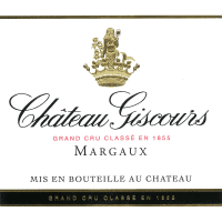 Chateau Giscours wine label