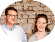 Céline and Frédéric Gueguen