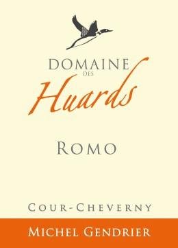 Cheverny wine label