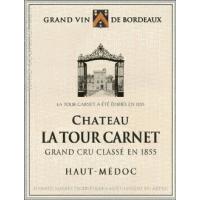 Chateau La Tour Carnet wine label