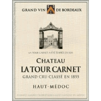 Chateau La Tour Carnet wine label