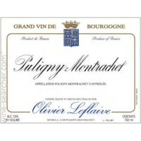 Domaine Olivier Leflaive wine label