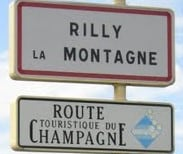 Rilly village sign