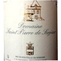 Domaine de Saint Pierre de Serjac wine label