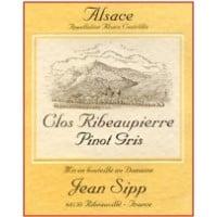Domaine Jean Sipp wine labe;