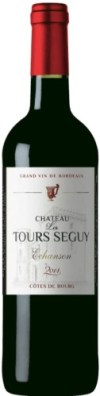 Chateau wine bottle