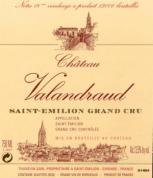Chateau Valandraud labelalandraud label