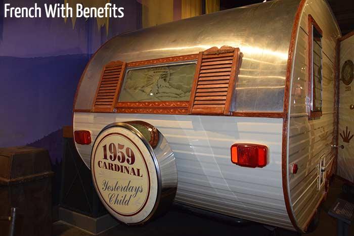 Une caravane datant de 1959.
