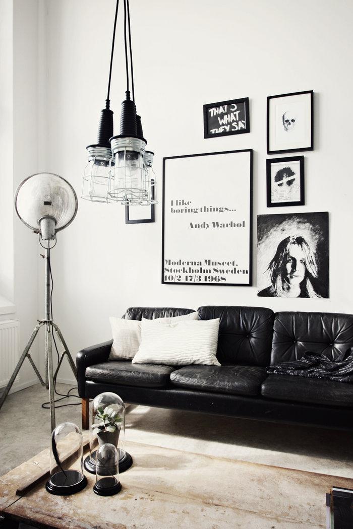 Un Intrieur Noir Et Blanc Frenchy Fancy
