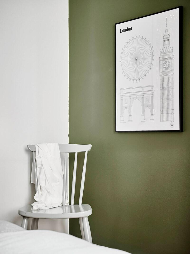 Vert De Gris Frenchy Fancy