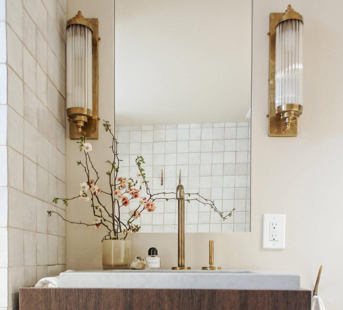 salle de bain minimaliste frenchy fancy