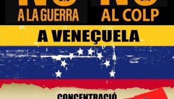 Concentración en Valencia contra la injerencia golpista en Venezuela