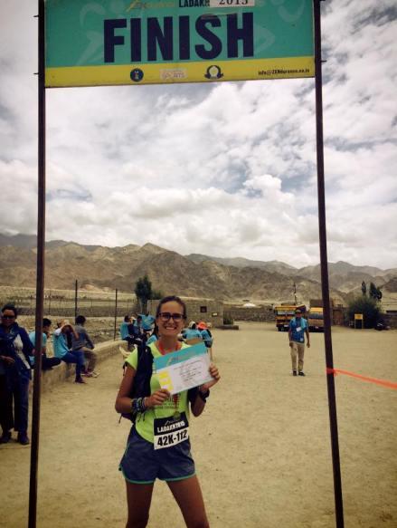 Maud et son tour du monde des Marathons