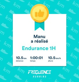 Session FREQUENCE Running