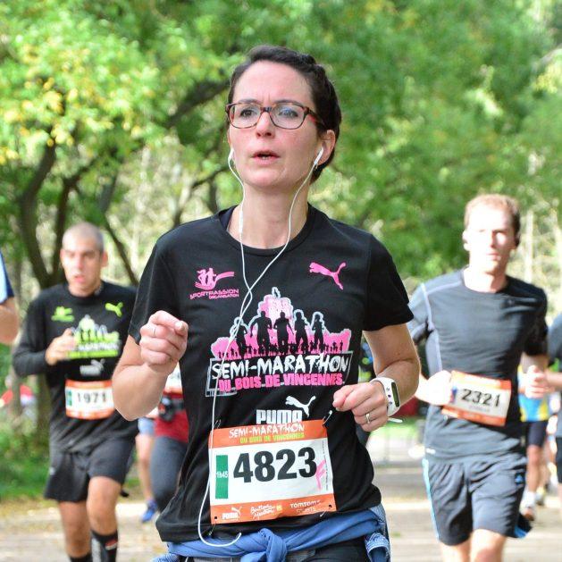 Stéphanie et sa préparation avec FREQUENCE Running