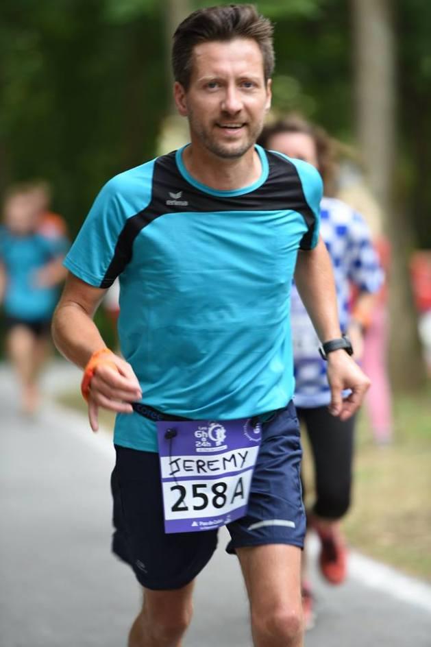 Jérémy en route pour un nouvel objectif avec FREQUENCE Running