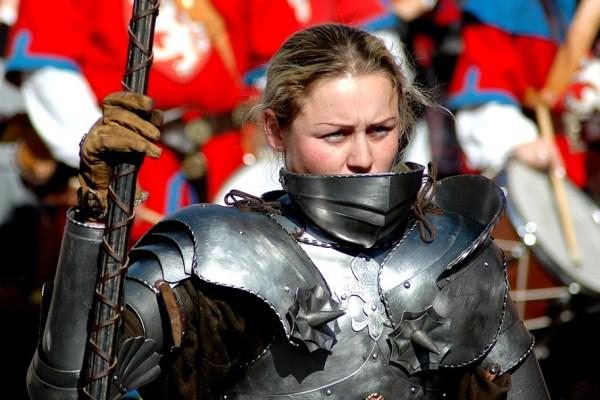 Les armes du chrétien: le bouclier de la foi.